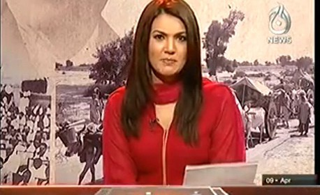 Aaj With Reham Khan – 9th April 2014