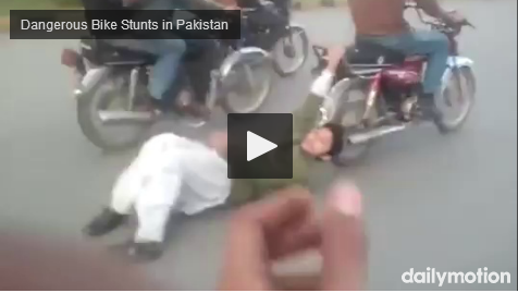 Dangerous Bike Stunts in Pakistan