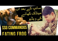 Pak Army SSG Commandos Can Eat | Frog | Snake | Hen & Many More